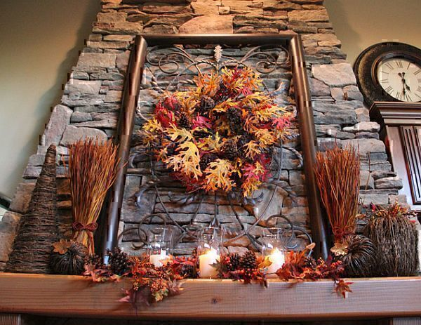 rustic-autumn-decorations-with-leaves-and-branches