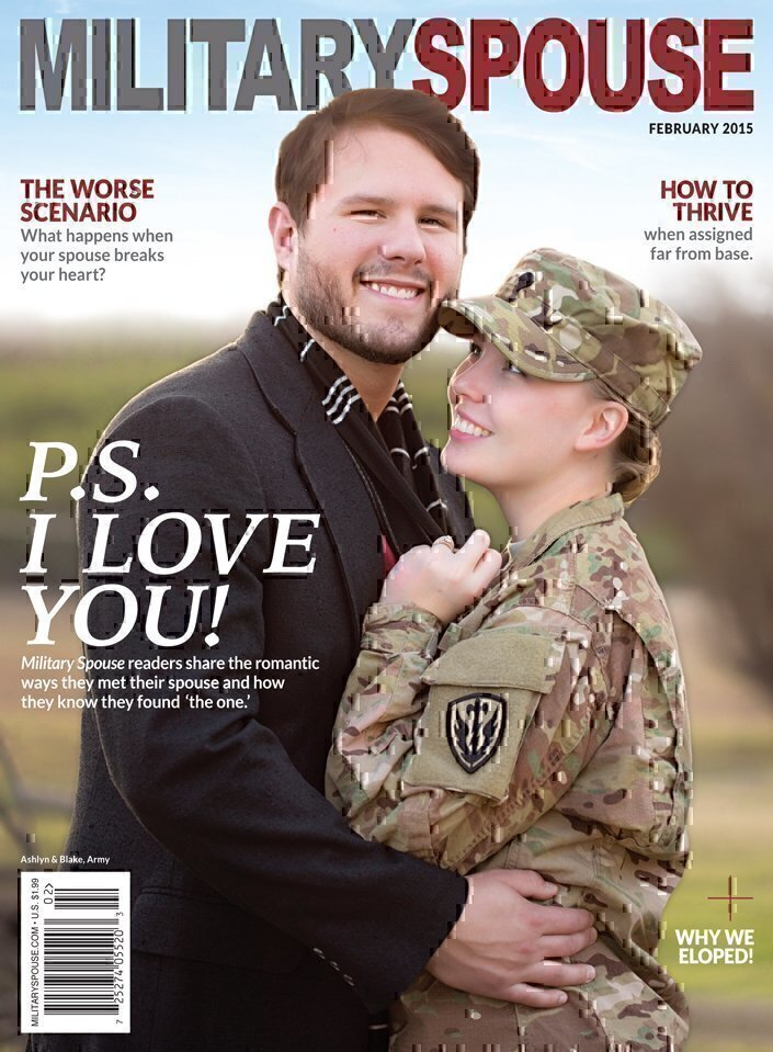 Ashlyn and Blake: When You Know, You Know | Military Spouse
