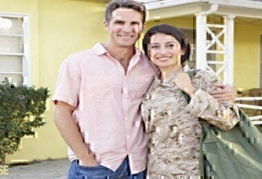 male military spouse