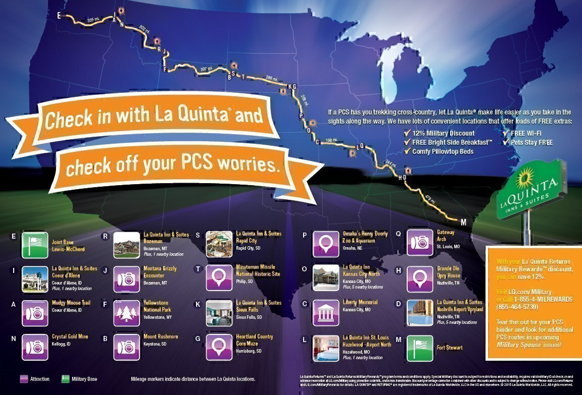 PCS Roadmap Check Off Your PCS Worries - Check off map