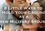 new military spouse