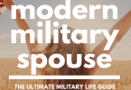 modern military spouse cover