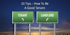 20 tips how to be a good tenant
