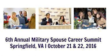 http://www.milspousesummit.com/events/the-military-spouse-career-summit/#