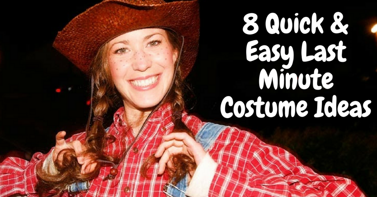sc 1 st  Military Spouse & 8 Quick and Easy Last Minute Costume Ideas