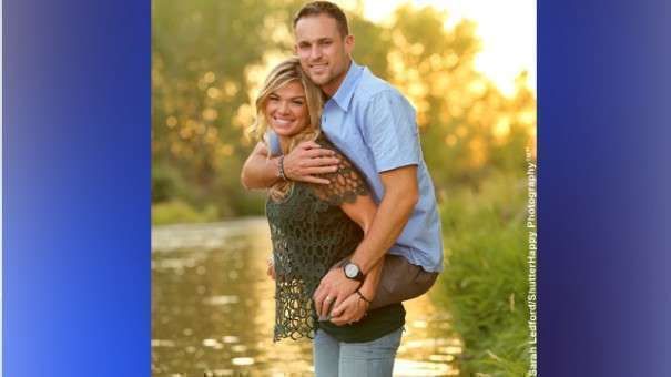 © Provided by CBS Interactive Inc. After Marine hero Jesse Cottle was photographed being carried by his wife on her back on a family vacation, the photo went viral. INSIDE EDITION spoke to a couple that is a true inspiration to all.