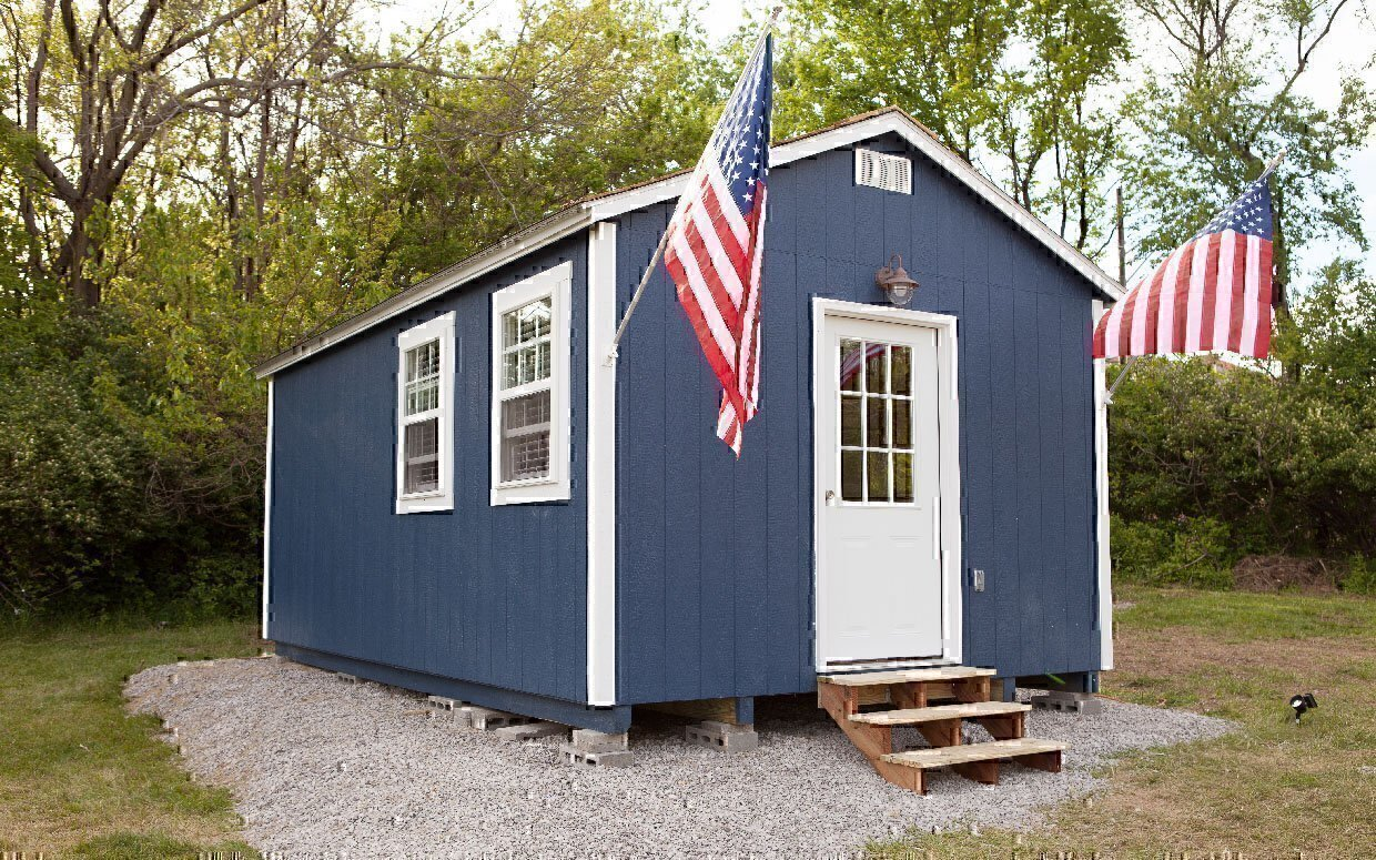 Houses that help veterans build tiny houses for homeless vets for What you need to build a house