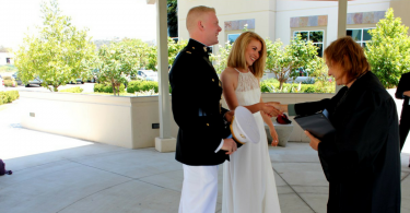 married the military