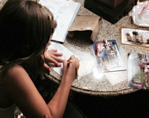 Writing Postcards in Charleston - Melissa Moore