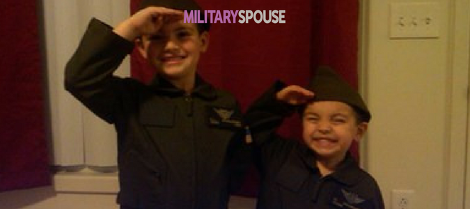 military kids