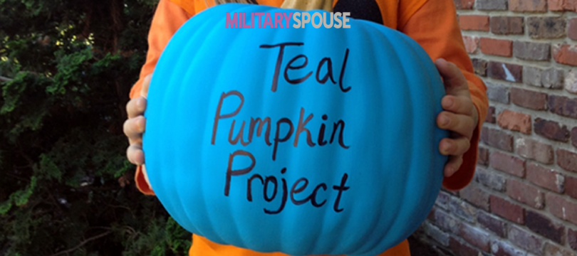 Teal Pumpkins to Make Halloween Safe for Kids with Food Allergies