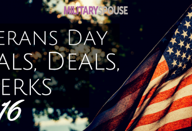 Meals, Deals, & Perks for Veteran's Day 2016