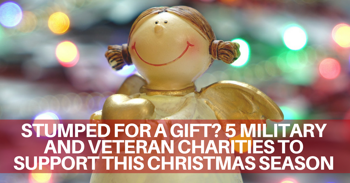 Christmas Charities.Stumped For A Gift 5 Military And Veteran Charities To